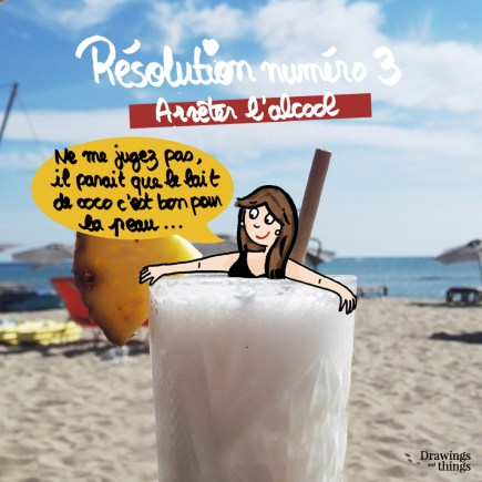 Résolutions-2019_Arreter-l-alcool-Illustration-by-Drawingsandthings