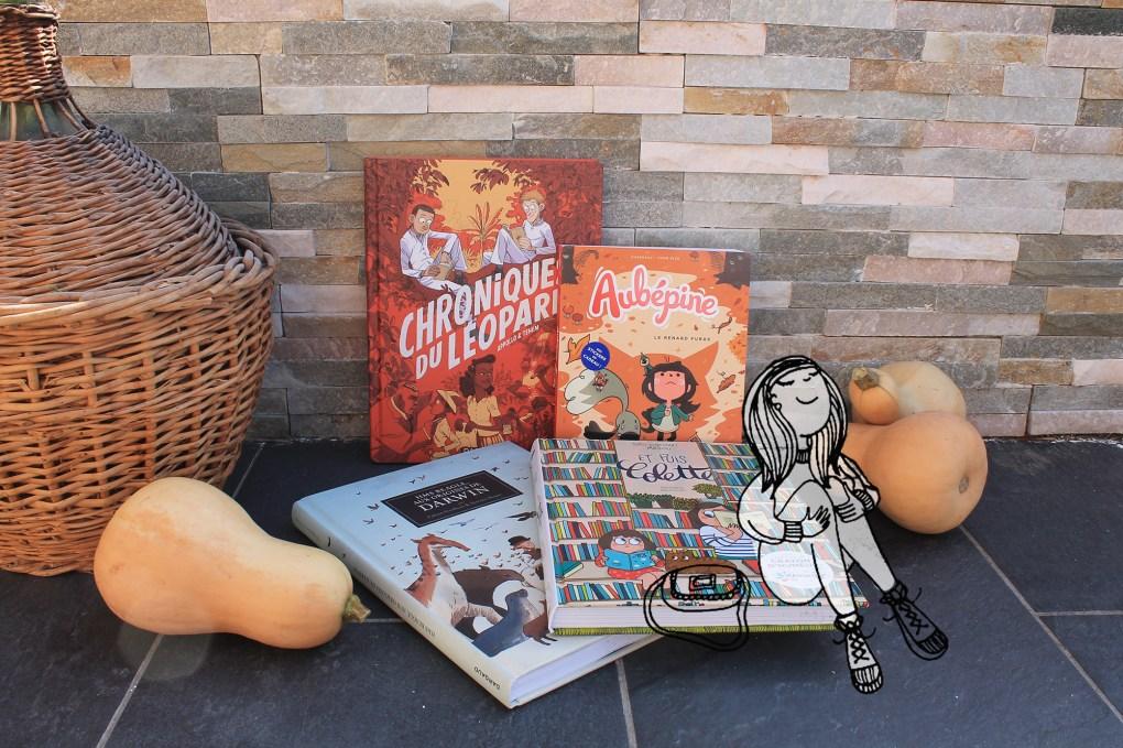 Ma selection de livres à lire cet hiver - Drawingsandthing