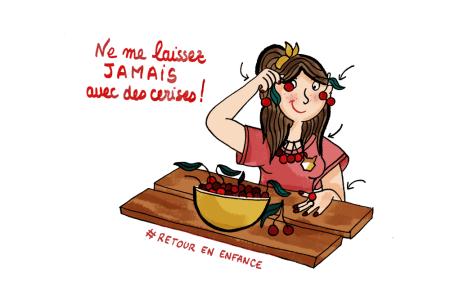 Retour-en-enfance-Cerises-Illustration-by-Drawingsandthings