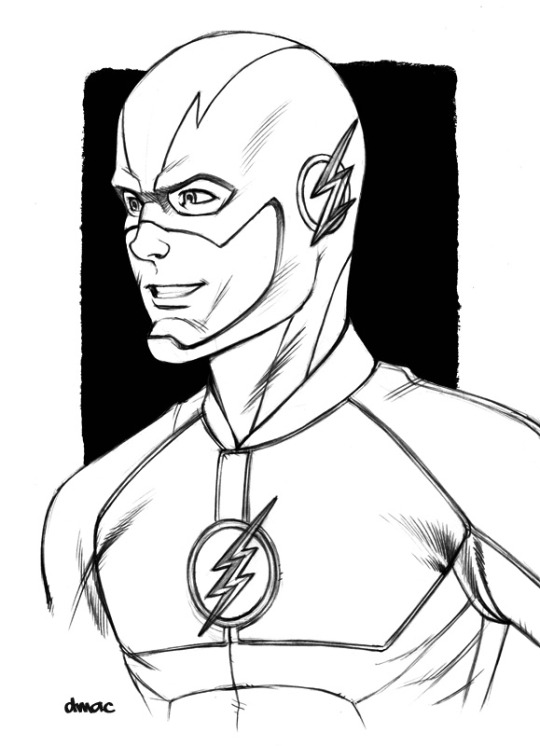 The Flash Photo Drawing Drawing Skill