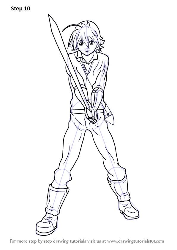 Learn How To Draw Tatsumi From Akame Ga Kill Akame Ga