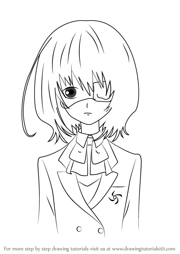 Learn How to Draw Mei Misaki from Another Another Step