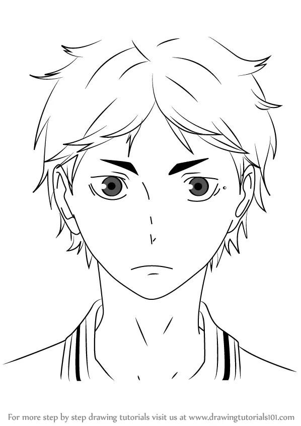 Learn How To Draw Koushi Sugawara From Haikyuu Haikyuu