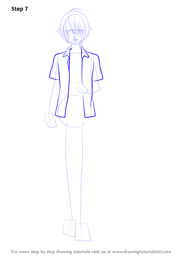 Learn How To Draw Izumi Sena From Love Stage Love Stage