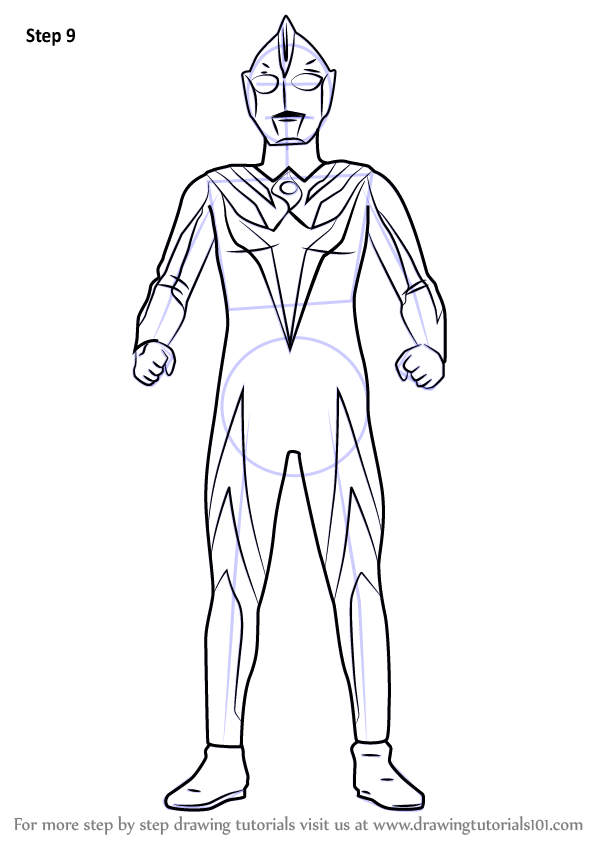 Gambar Mewarnai Ultraman Cosmos Modern Home Revolution