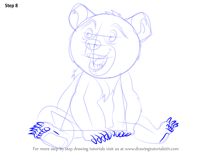 Learn How To Draw Koda From Brother Bear Brother Bear