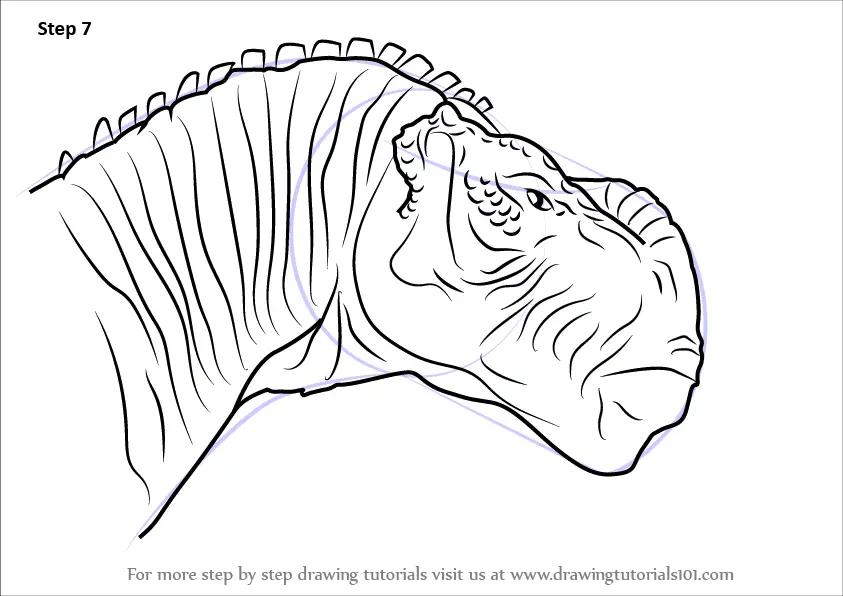 Learn How To Draw Kron From Disney Dinosaur Disney