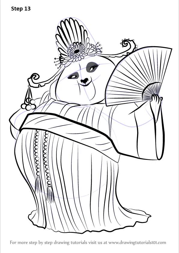 Cartoon Printable Panda