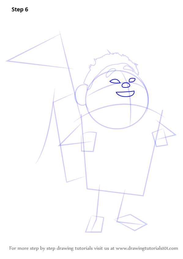 Learn How to Draw Russell Wilderness Explorer from Up Up
