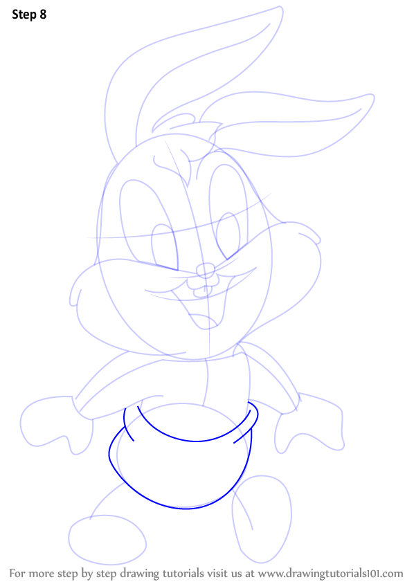 Learn How To Draw Baby Bugs From Baby Looney Tunes Baby