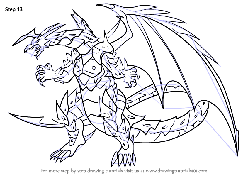 Learn How To Draw Viper Helios From Bakugan Battle