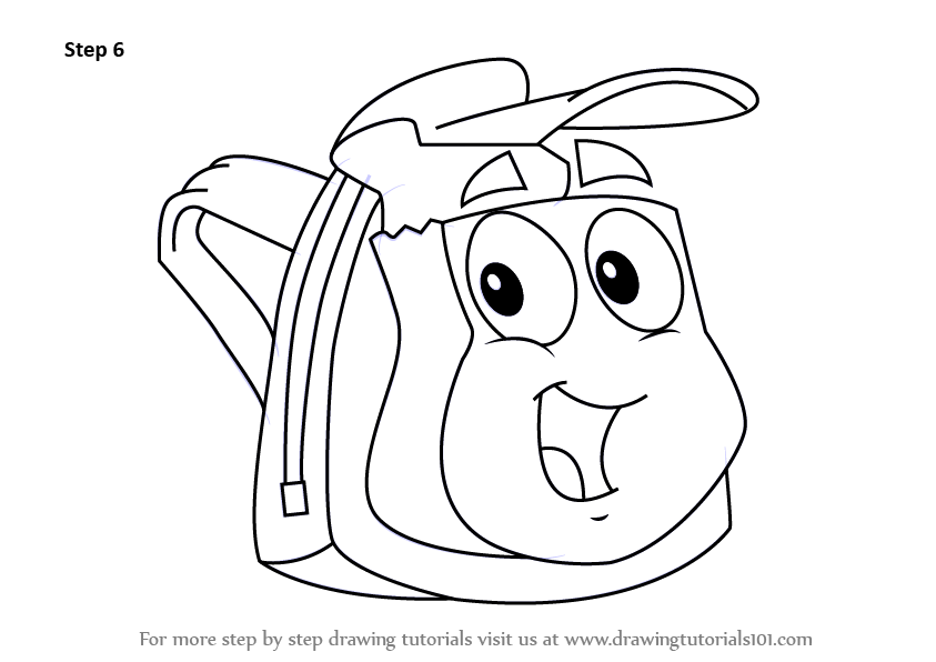 Learn How To Draw Rescue Pack From Go Diego Go Go