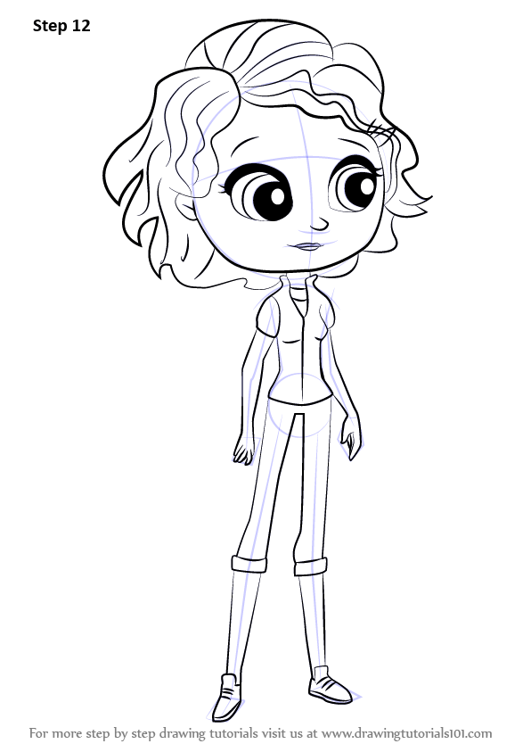 Learn How To Draw Sue Patterson From Littlest Pet Shop