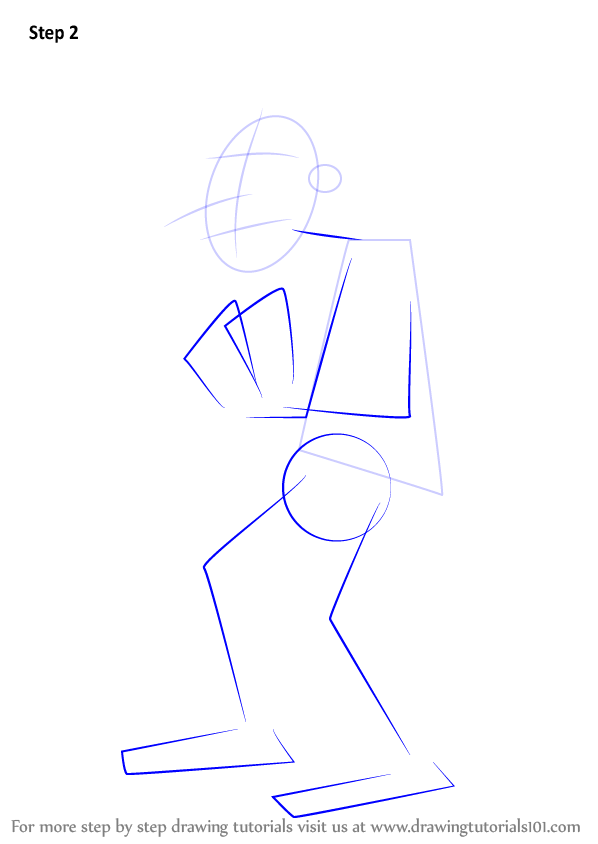 Step By Step How To Draw Dr Doofenshmirtz From Phineas