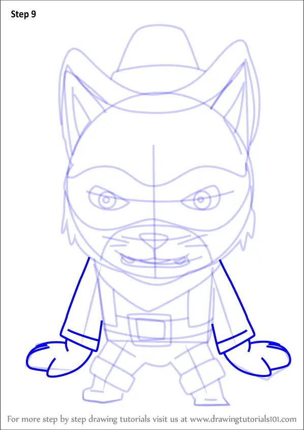 Drawings Wolf Cartoon Pencil