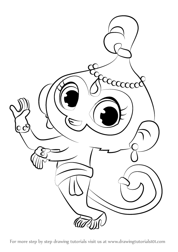 Podrás escoger otro dibujo y así completar tu libro para colorear de shimmer y shine. Learn How to Draw Tala from Shimmer and Shine (Shimmer and