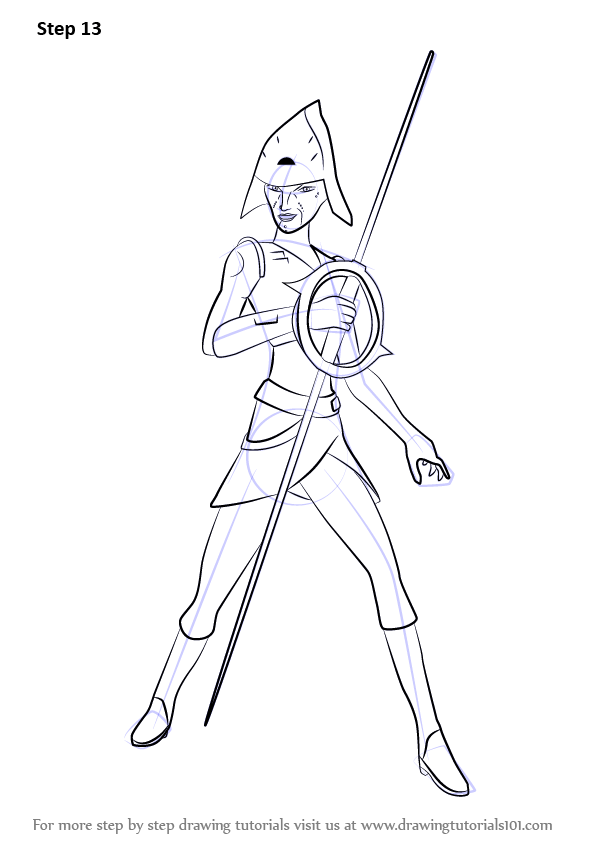 Learn How To Draw Seventh Sister From Star Wars Rebels