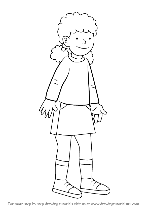 Learn How To Draw Wilma Page From The Magic Key The Magic