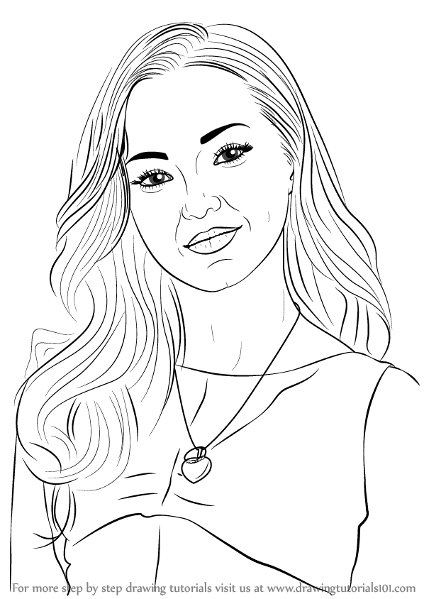 Outstanding Dove Cameron Coloring Pages Images - Example Resume and ...