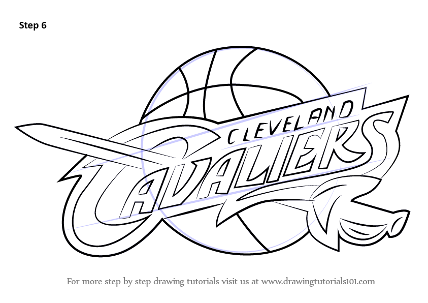 Knicks Basketball Logo Coloring Page