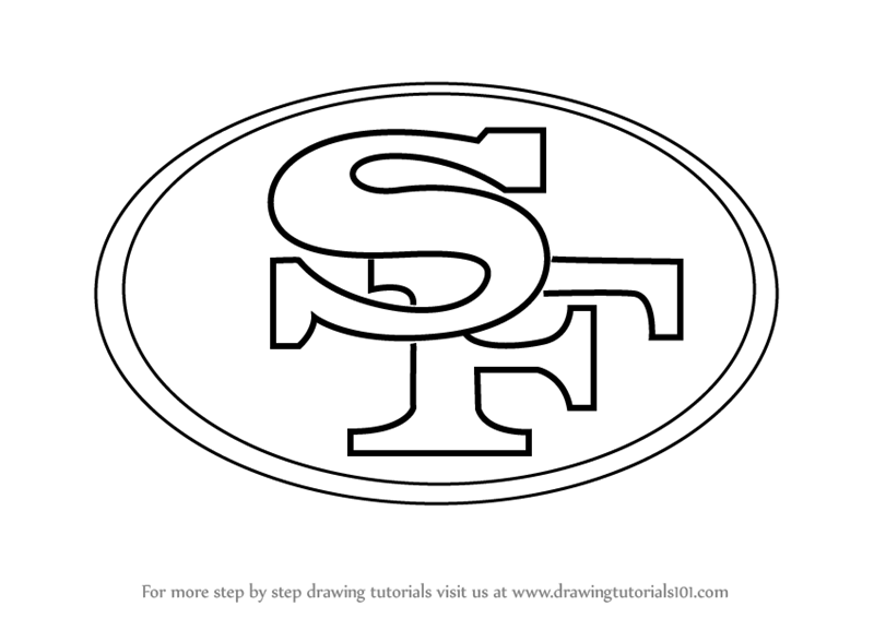 Printable Seahawks Outline Logo
