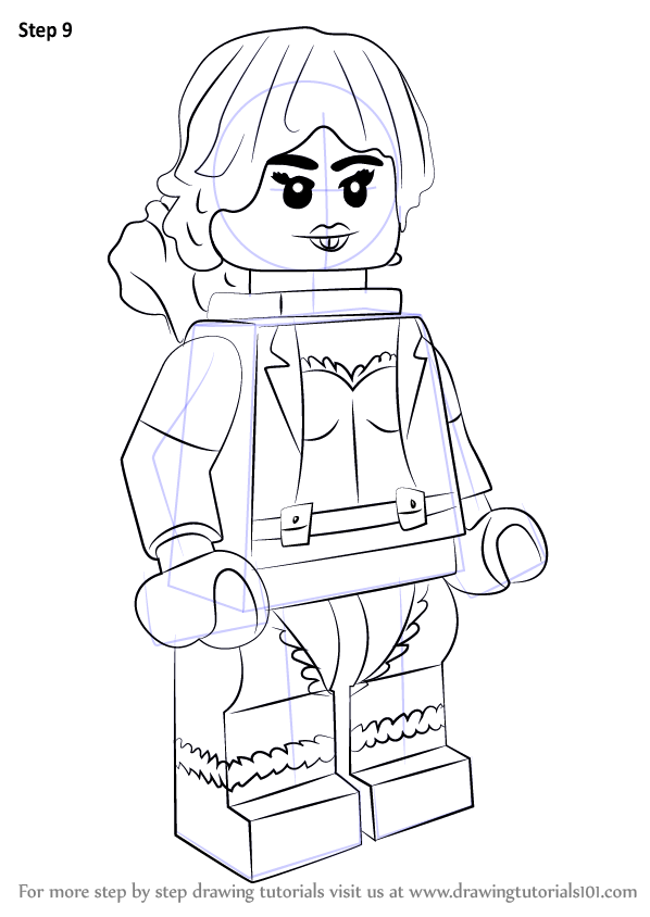 Learn How To Draw Lego Squirrel Girl Lego Step By Step