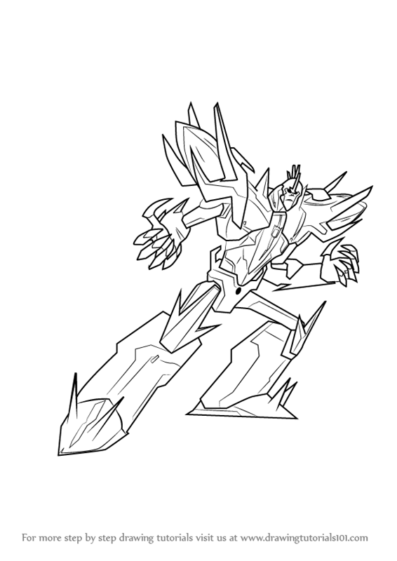 Learn How To Draw Fracture From Transformers Transformers