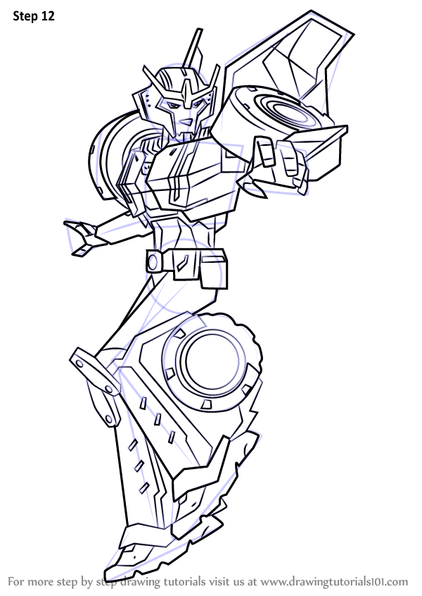 Learn How To Draw Strongarm From Transformers