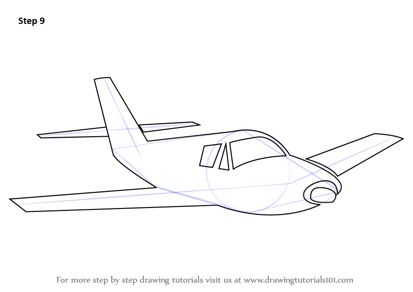 Learn How To Draw Airplane Sketch Airplanes Step By Step