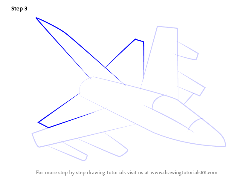 Learn How To Draw Panavia Tornado Aircraft RB199 Jet