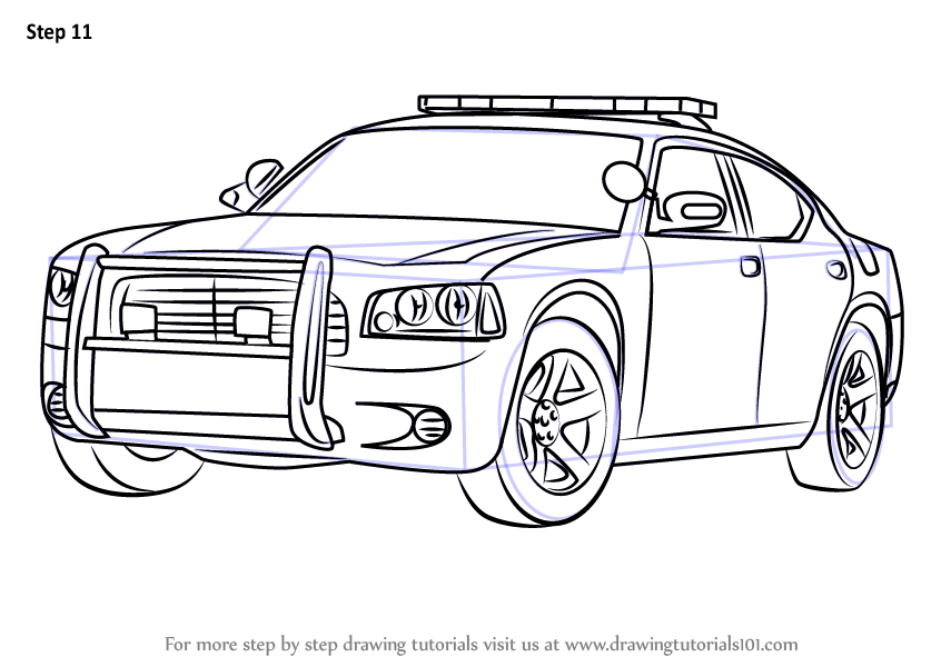 Sheriff Cars Coloring