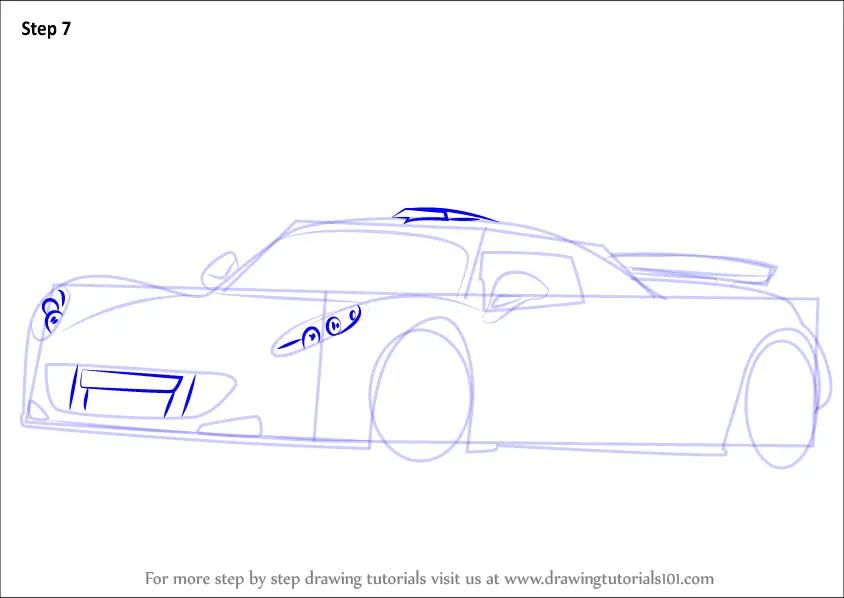 1969 Camaro Drawing Draw