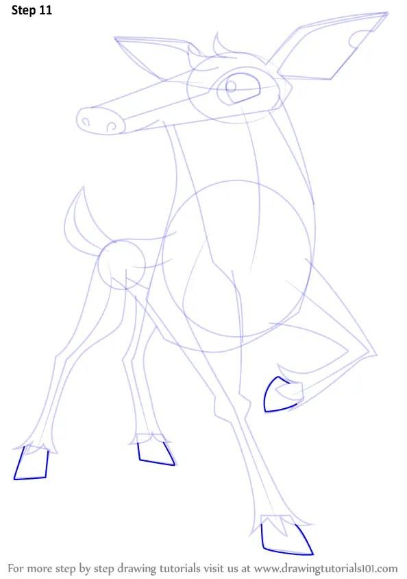 Learn How To Draw Deer From Animal Jam Animal Jam Step