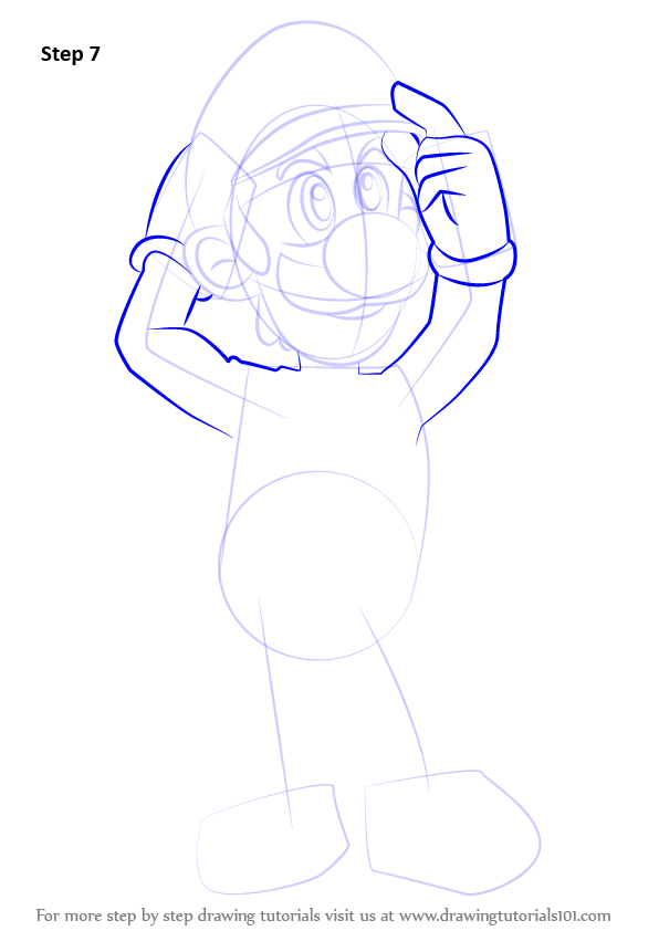 Learn How To Draw Luigi From Super Smash Bros Super Smash