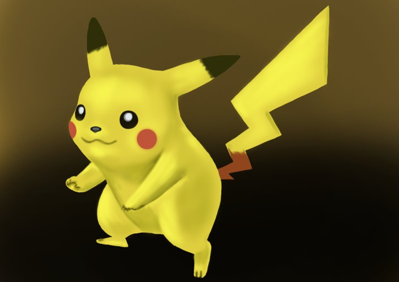 Learn How To Draw Pikachu From Super Smash Bros Super