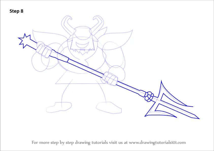Undertale Asgore Dreemurr Drawing