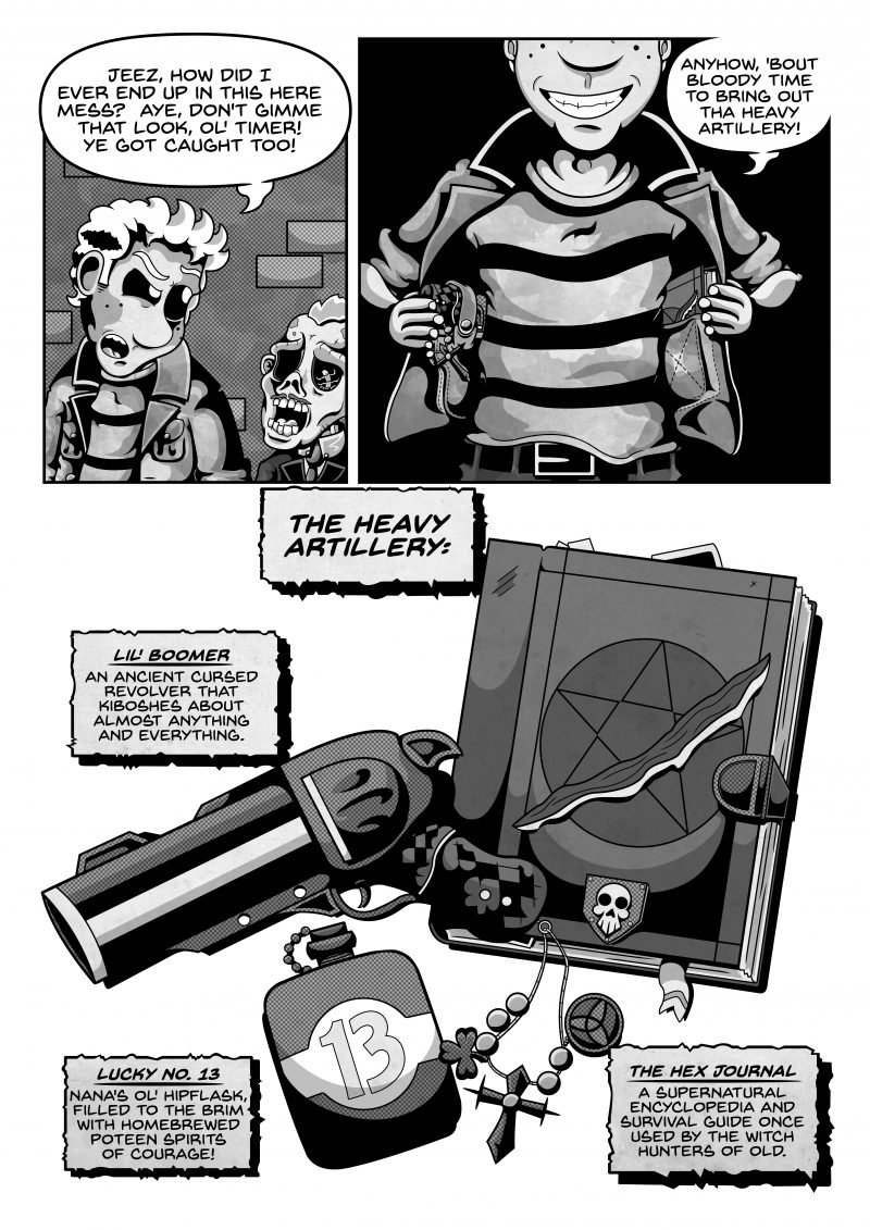 Lonesome Ghost Page 13