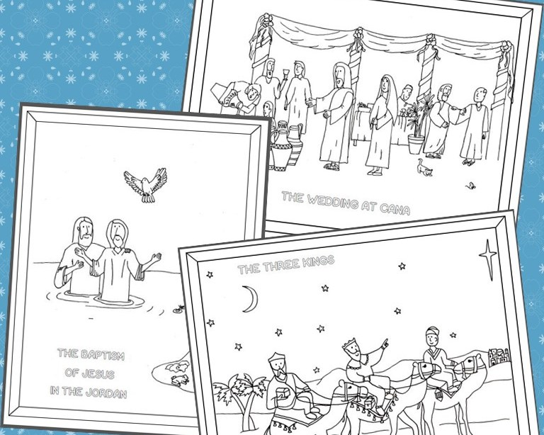 Epiphany Coloring Pages - Drawn2BCreative