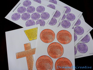 40 Days Of Free Lenten Printables My Giant Paper Rosary