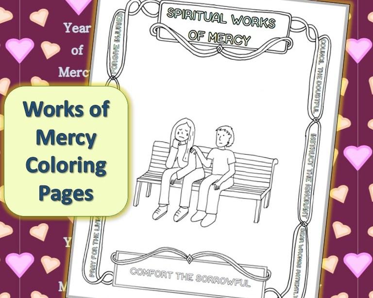 CATHOLIC PRAYERS |Spiritual Works Of Mercy Comfort The Sorrowful