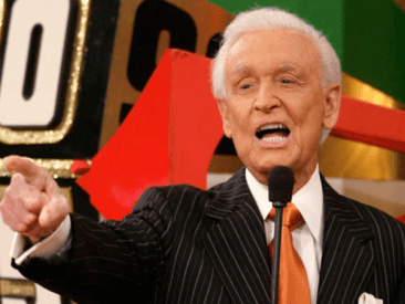 Bob Barker of The Price is Right Game Show Television