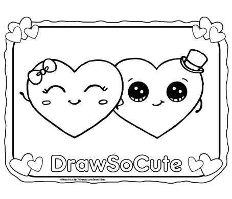 Happy Valentines Day Draw So Cute