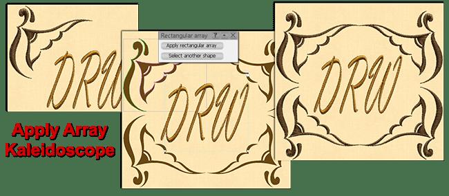 Circular Array tool