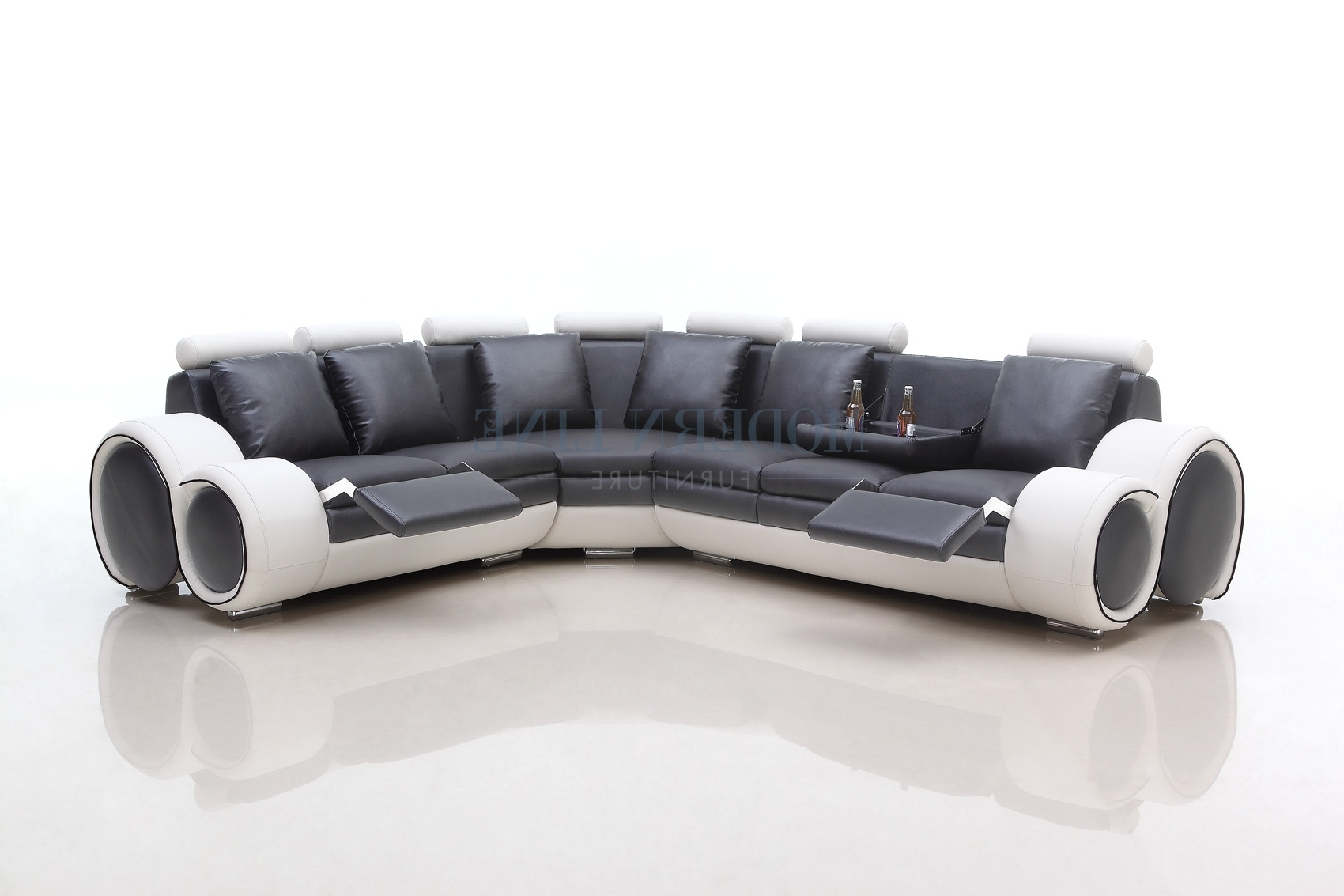 View Photos Of Sectional Sofas With Consoles Showing 11 Of 20 Photos