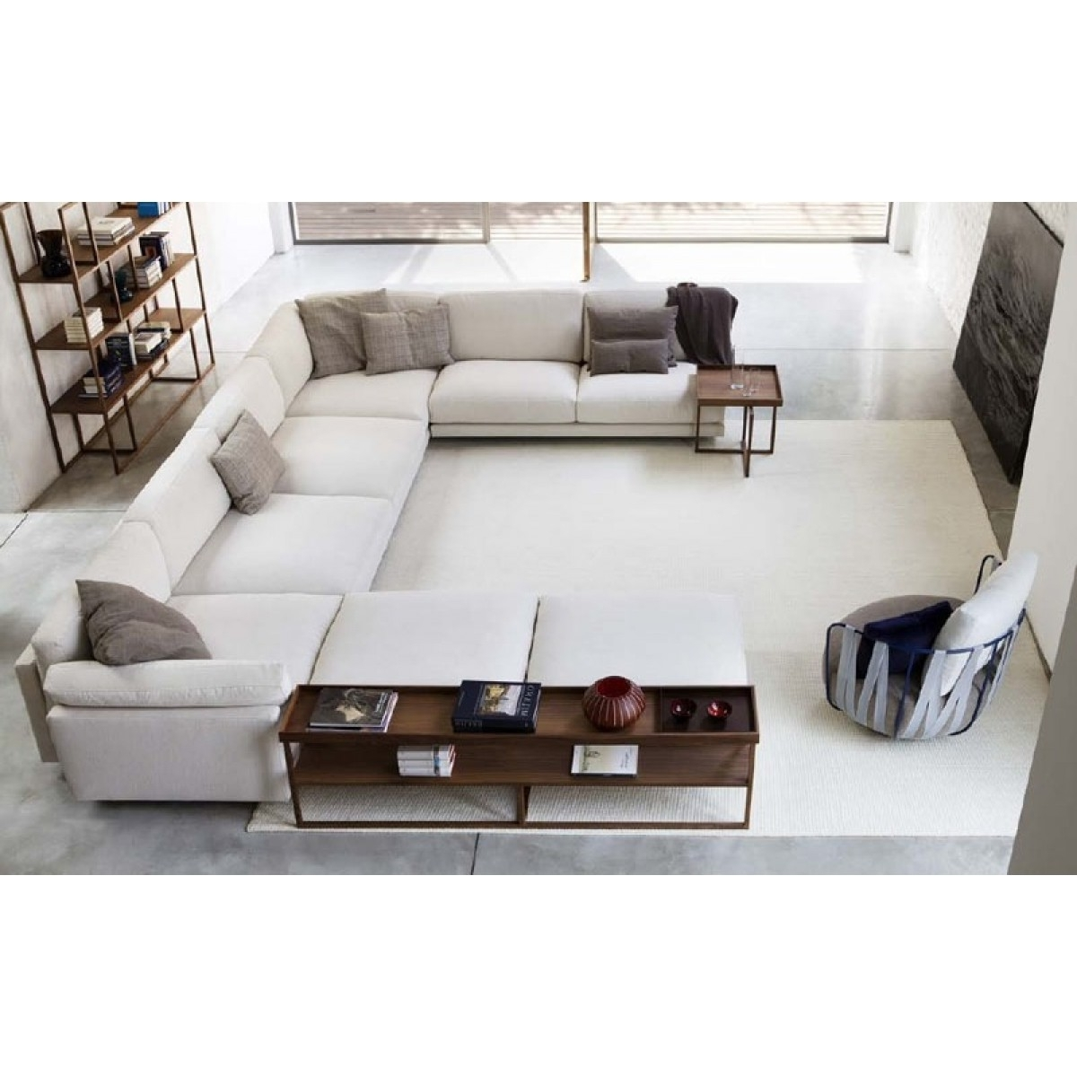 gallery of long modern sofas view 18