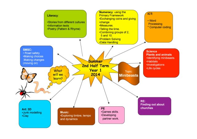 Year 1 Curriculum Map Summer 2 2014