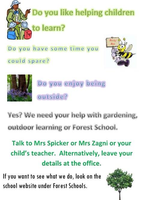 Outdoor Learning Volunteers