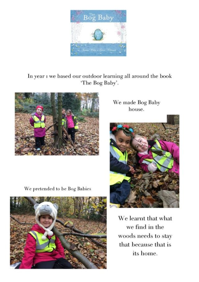 thumbnail of Outdoor learning in year 1