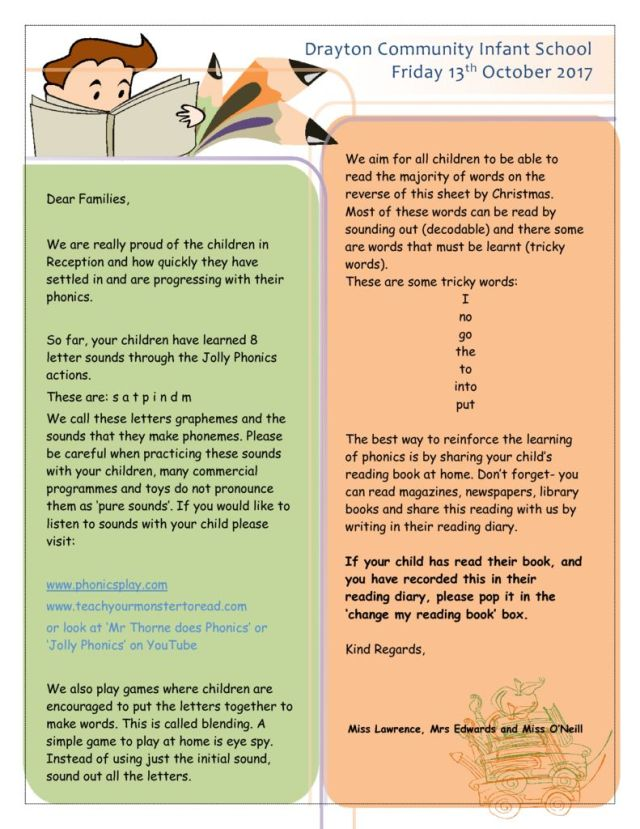 thumbnail of Phonics Newslette 13.10.17