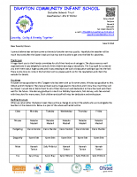 Newsletter 23rd March 2018
